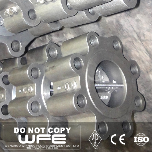 Cnc Machining Kitz Dn300 Drilling Butterfly Valve