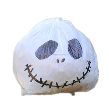 Heavy duty Plastic Lawn and Leaf Bag for Halloween Decoration