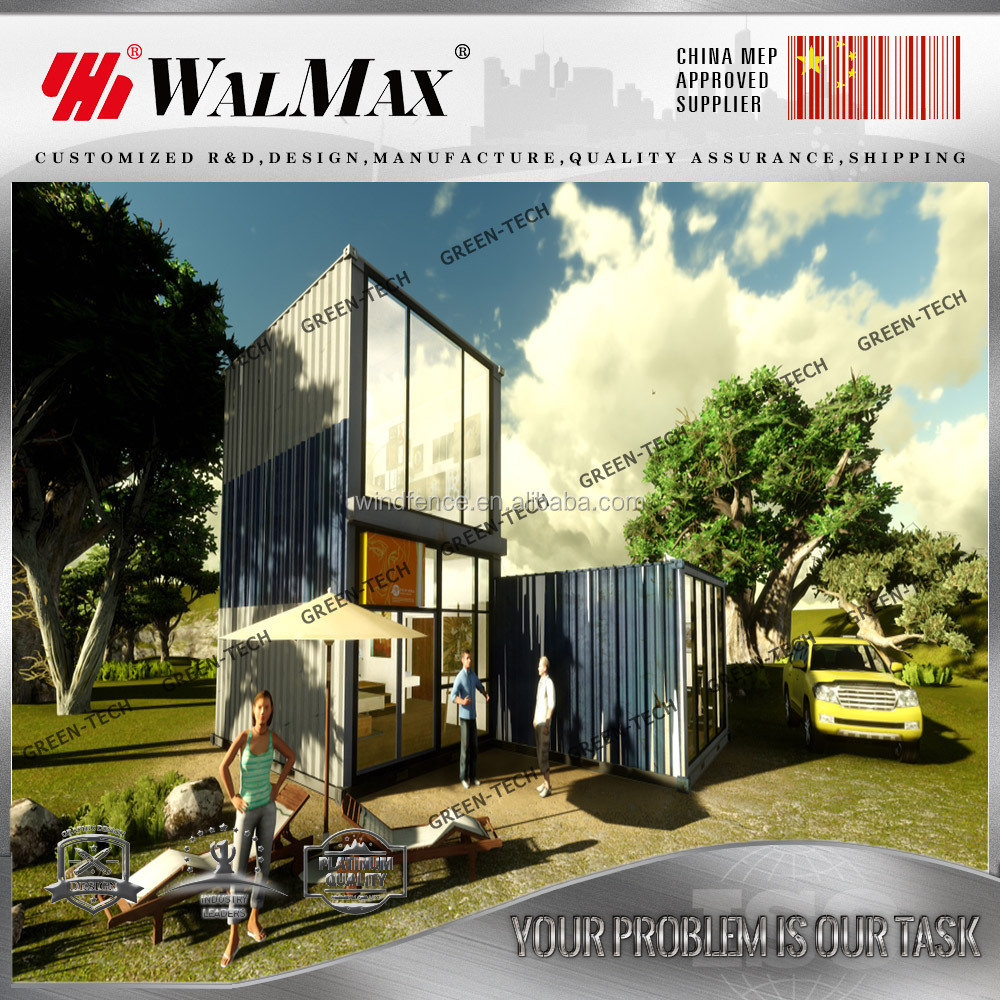 CH-AF032 WALMAX cheap one bedroom modular homes customized for european market