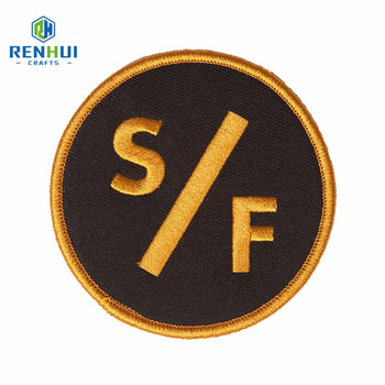 High Quality Custom Embroidery Patches Supplier For Bag Cloth patches embroidery patch