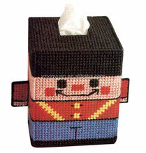DIY goods,3D Cross stitch Embroidery.beautiful.Tissue Box-009-01