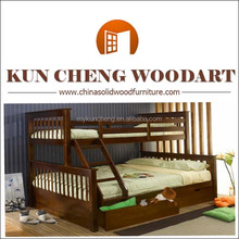 Wooden paradise-2/Lotus pond/Solid wood bunk bed/Children's bunk bed