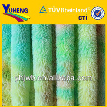 Polyester PV Plush Fabric for Tiedye Print