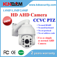 CCVC Speed Dome 1.3/2.0 Megapixel Intelligent IR High Speed Dome Camera 1080P AHD Camera PTZ Camera Price Very Cheap and Useful