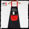 New design wholesale cotton fabric apron with great price