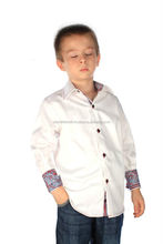 Kids Wear,wholesale newest style long sleeve kids shirt