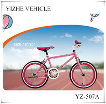 China manufutrue 18 inch bmx bike for girls/Beautiful pink kid road bike for sale