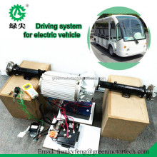7.5kw 72v powerful brushless AC motor driving kits for electric vehicles