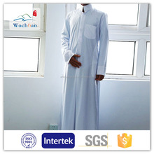 China Factory wholesale fabric polyester spun fabric, arabic robe thobe fabric, arabic dress dubai