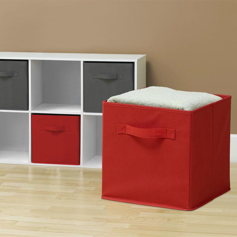 Durable Folding Canvas Square Open U003cstrongu003eStorageu003c/strongu003e ...