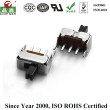 High Isolation Voltage ROHS Certified SS13D01 Pcb Slide Switch