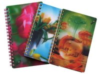 3d lenticular exercise note book