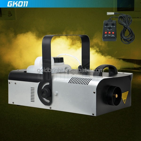 2000W Fog Smoke Machine Fogger Party Disco DJ Remote DMX512 Time Ration control