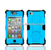 2 in 1 detachable robot phone case cover for iphone 4 4s