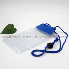 Waterproof bag for phone camera cards 106x215mm etc