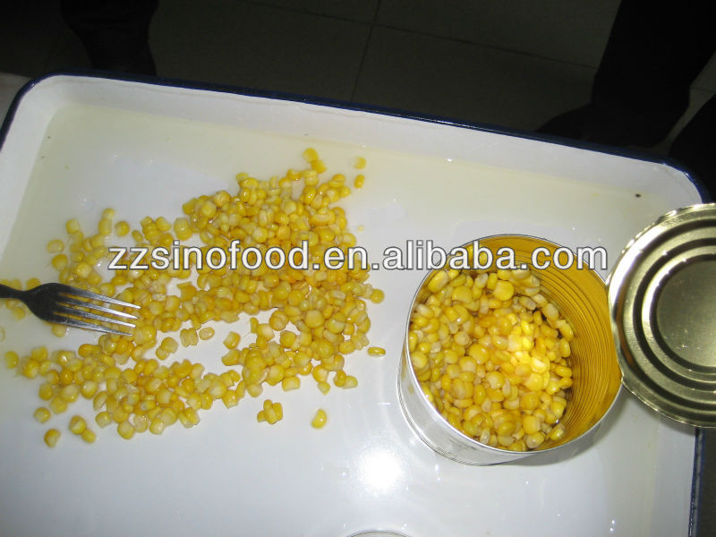 Delicious canned sweetcorn