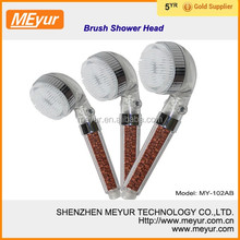 MEYUR ECO Spa Shower Head with brush
