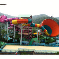 fiberglass water slide tubes for sale