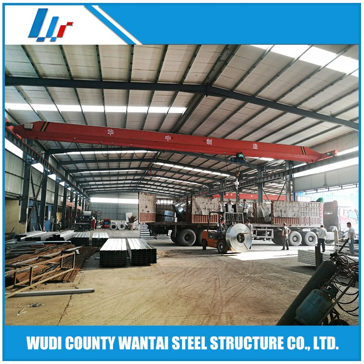 customized design steel frame structure