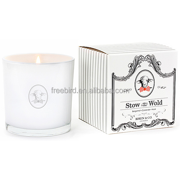 Peaceful Series Small Rose Scented Soy Wax Candle