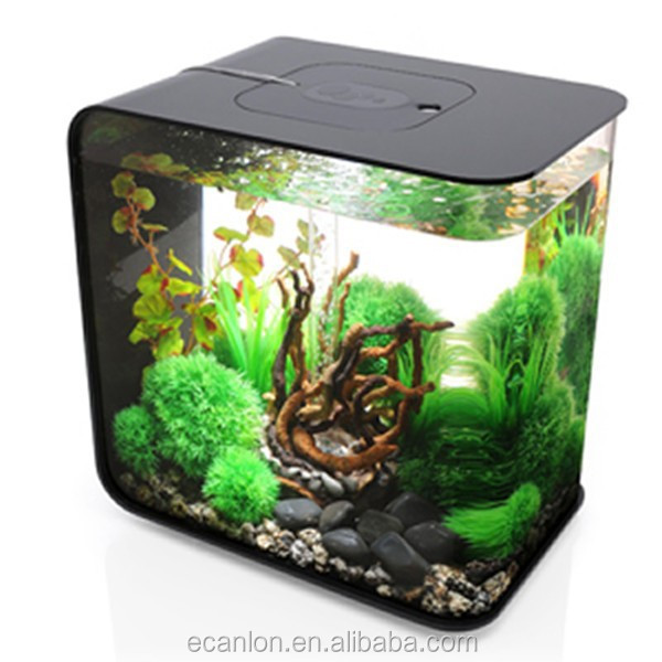 Fancy acrylic plastic electric fish tank buy small for Fancy fish tanks