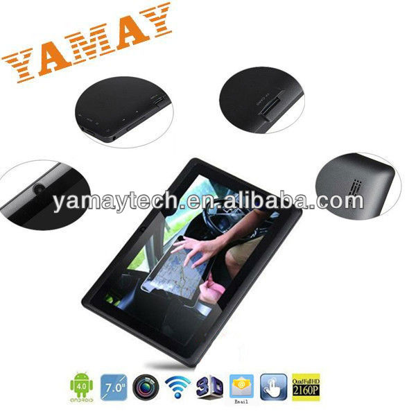 Cheap Andriod Tablet 7 inch Tablet PC Android 4.0 MID ALLWINNER A10 1.5Ghz Tablet 5 Point Touch