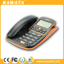 2015 new design modern office/home caller id phone