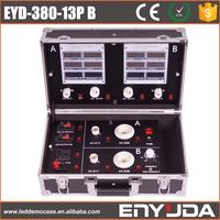 Aluminum LED light Demo Case 380-13p B with many kinds of bulb socket,lamp