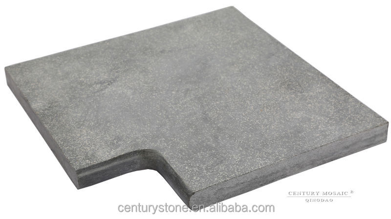 40x40/30x3cm sandblasted bluestone coping
