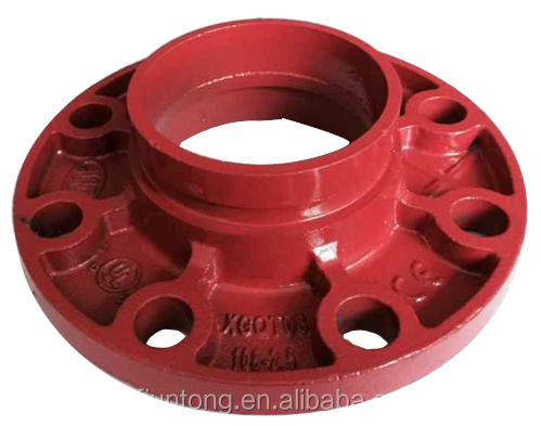 FM Approved Grooved Pipe Fitting Coupling Flange