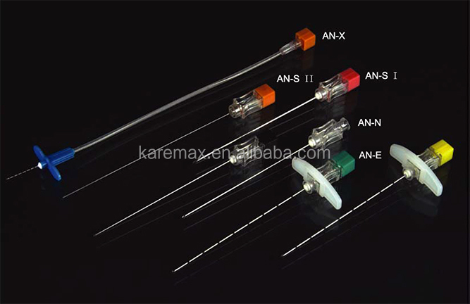 Disposable spinal needle and epidural needle/ puncture needle pencil point
