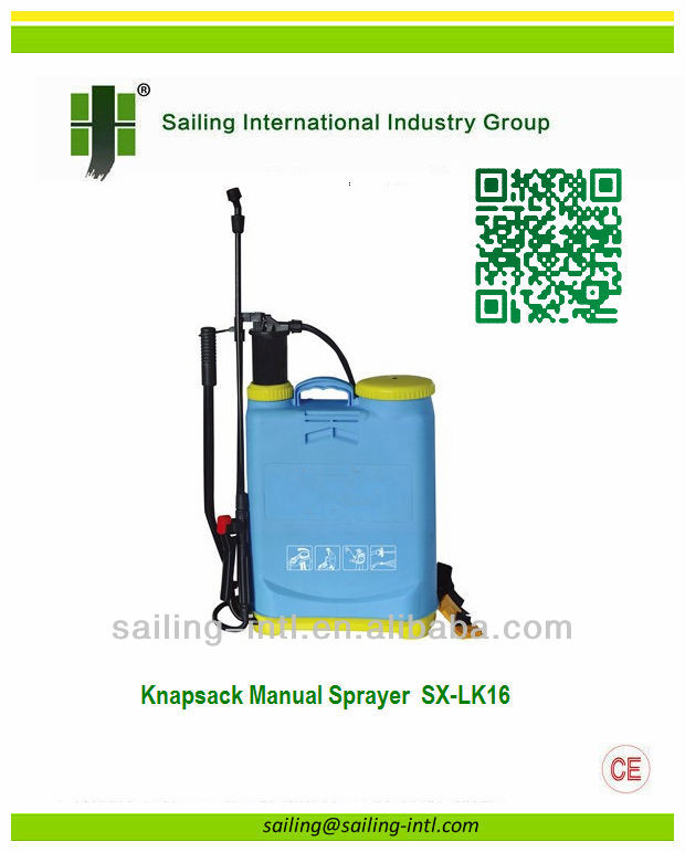 16L Knapsack Manual Sprayer