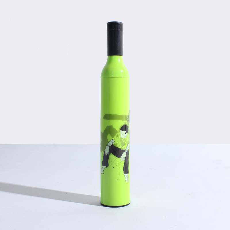Fantastic 2018 China's unique innovative advertising custom folding beer bottle umbrella