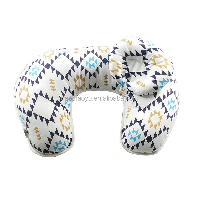 2 in 1 U shaped cotton breastfeeding pillow