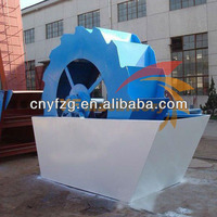 2013 Durable and practical high efficiency sand washing machine for sand plant