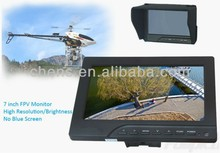 Sun shield for FPV monitor 7 inch