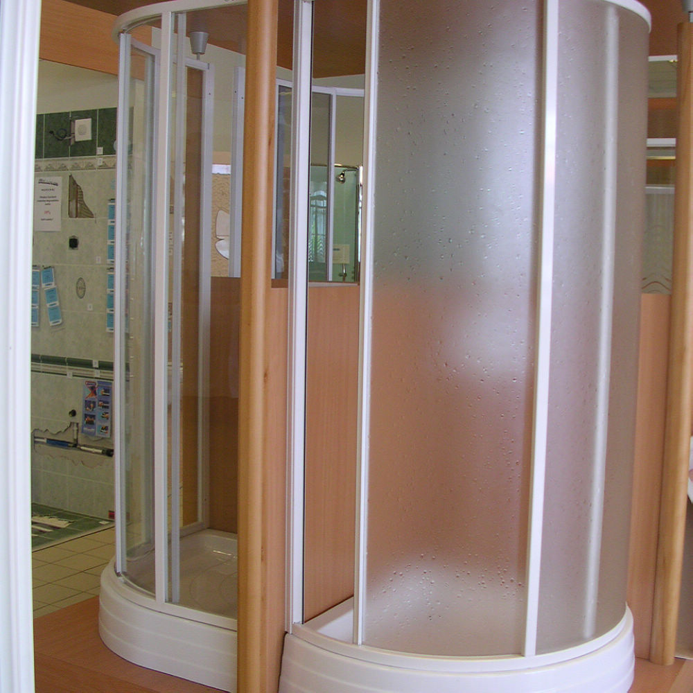 PS / Acrylic material plastic shower folding door panel / sheet manufacturer
