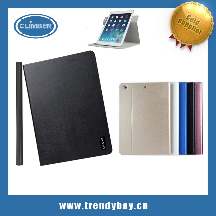 USAMS brand flip pu case for ipad mini retina