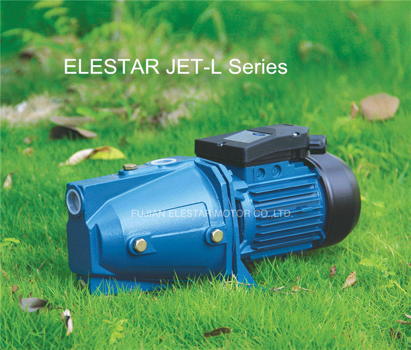 JET-L continuous systems PPO Plastic pump body brass impeller copper wire Auto jet-p water pump for grden manufacturer Mingdong