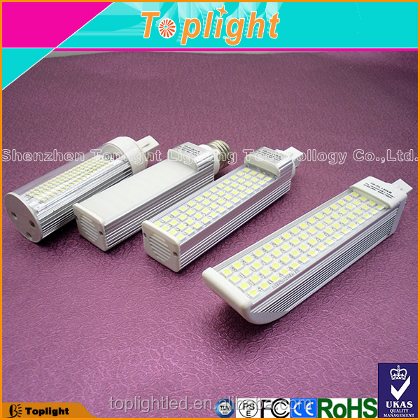 Hot Sale in USA 3000K 4000K 6000K 360 Degrees 9W 120 Volt LED PL Lamp g24q-3 Base light plug in led driver