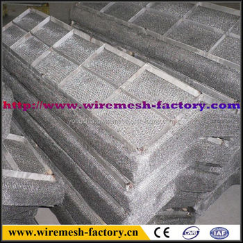 aluminum wire mesh demister with variety material