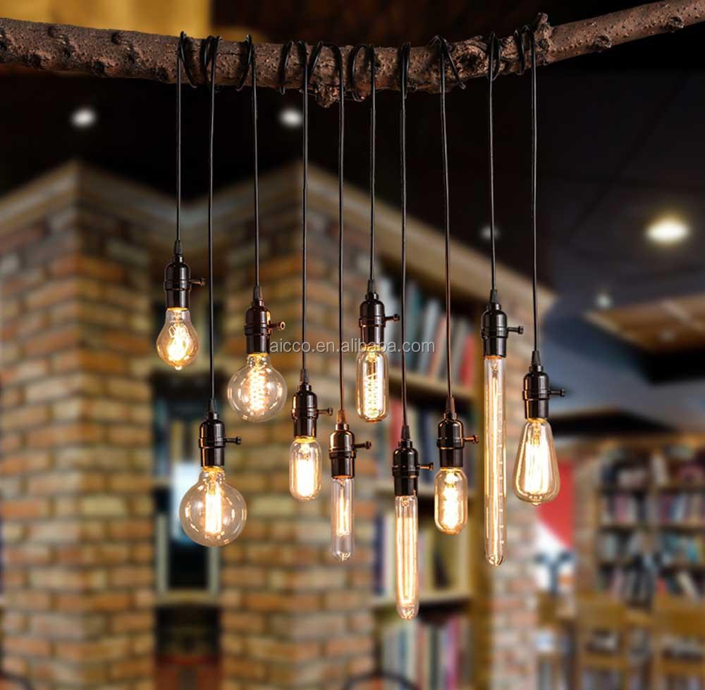 Decorative hanging pendant light vintage industrial loft