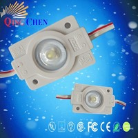160 degree viewing angle 12V IP65 high power 1w injection led module with lens