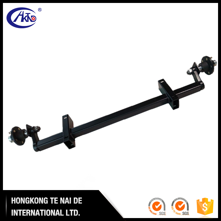 2000 kg 4500 lb ATV Trailer Non Braked Rubber Torsion Axle