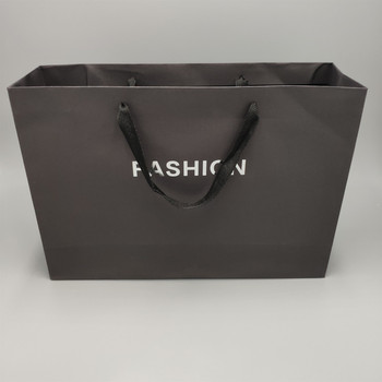 high quality custom printing kraft paper type and Handle Sealing paper bag