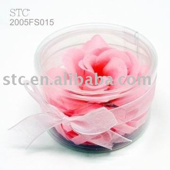 Valentine's Day promotional gift rose soap flower