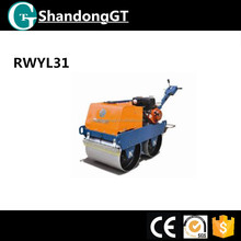 550kg New Walk Behind Roller Hydraulic Type Of Rubber Tire Road Roller For Sale