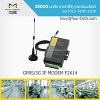 F2114 M2M Industrial Modbus GPRS Modem with 5 I/O port for Hydrology Monitoring Application