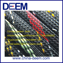 heat shrink Sleeving PET braided sleeving for silicone rubber tube