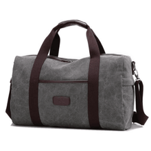 Men Hand Travel Bag Capacity Luggage Travel Duffel Bags Canvas Weekend Bag
